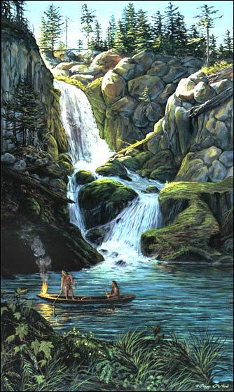 The teachings of Don Juan Matus  - Page 2 Eel-falls-print