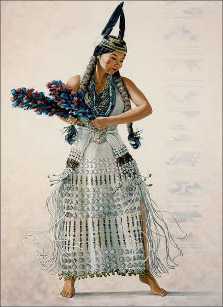 Native American Art - Feather Dancer