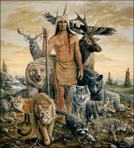 Native American Art - Once We Were One